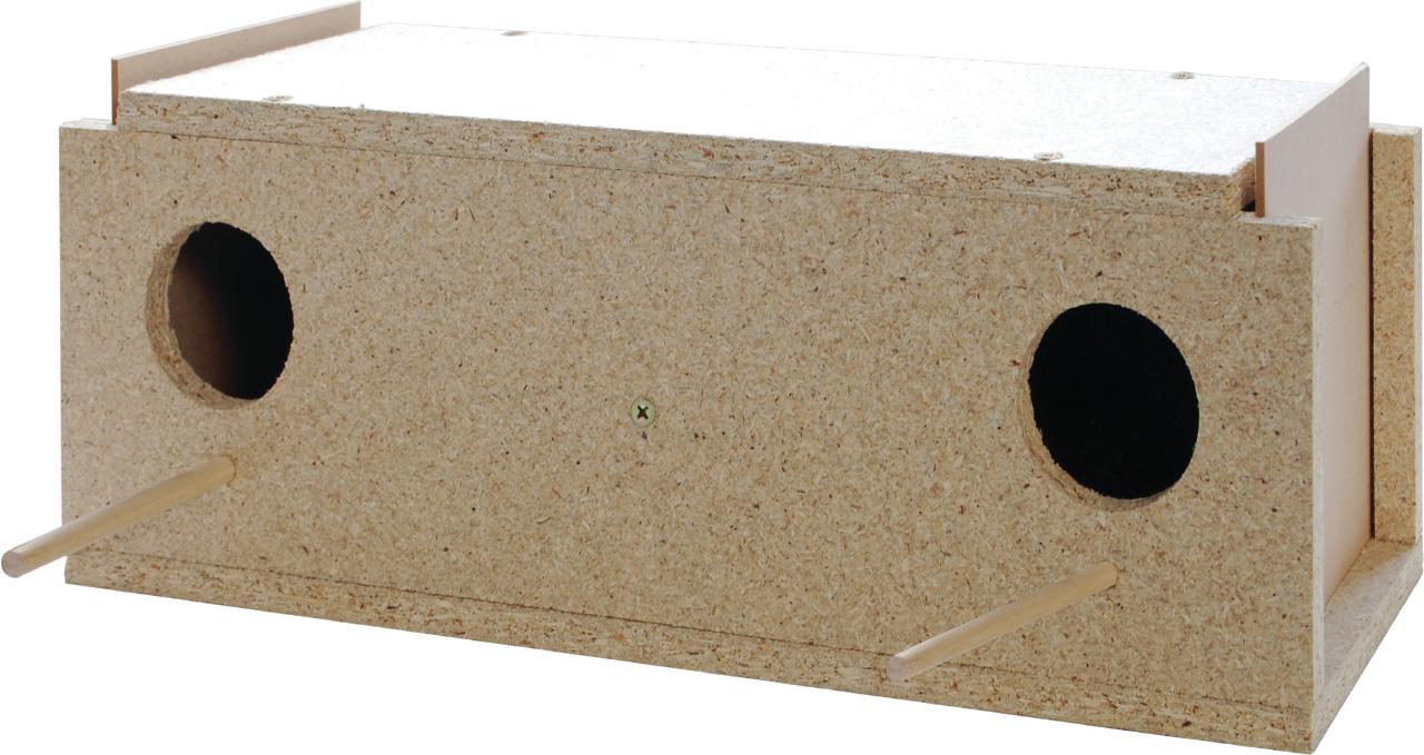 Budgie Nest Box - Double - The Parrot Place