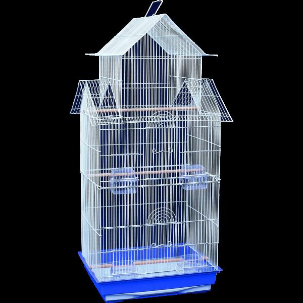 30005 – Double Gable Cage 47x36x100cm