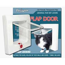 Petware 4 way locking cat flap