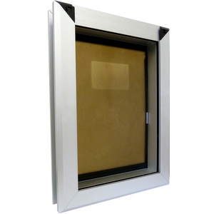 Pet Corp PC9 Dog Door Wood Aluminium and Wall  Fitting