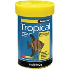 Aqua One Tropical Flake Fish Food