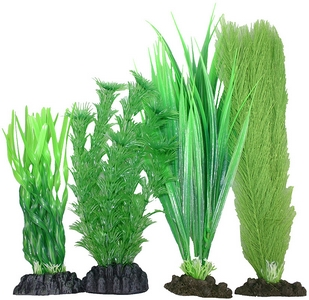 Plastic Plant 4 pack Mix 4