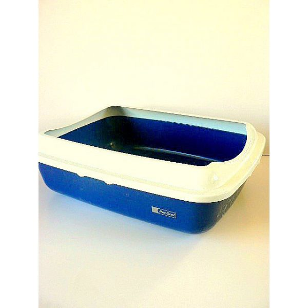 Pet One Litter Tray Large with Lid
