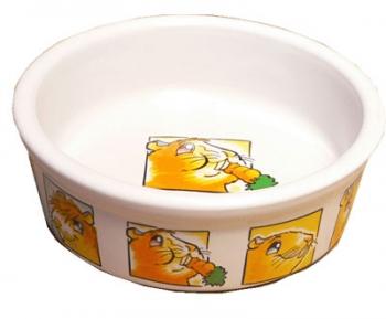 Ceramic Guinea Pig Dish 11cms