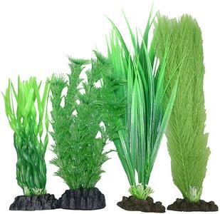 Plastic Plant 4 pack Mix 4